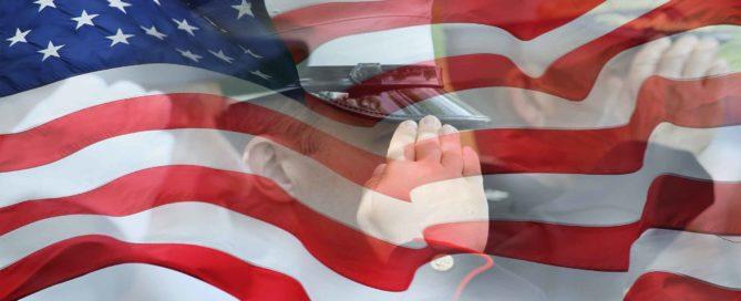 US Flag Salute